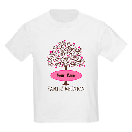 Personalized Family Tree Reunion T Shirt By