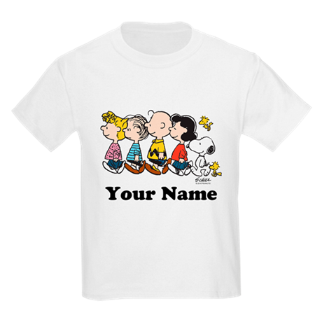 Peanuts Walking No BG Personali T-Shirt