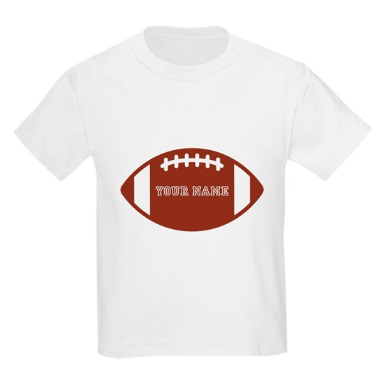 Custom name Football