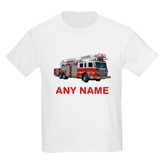 FIRETRUCK with Any Name or Text