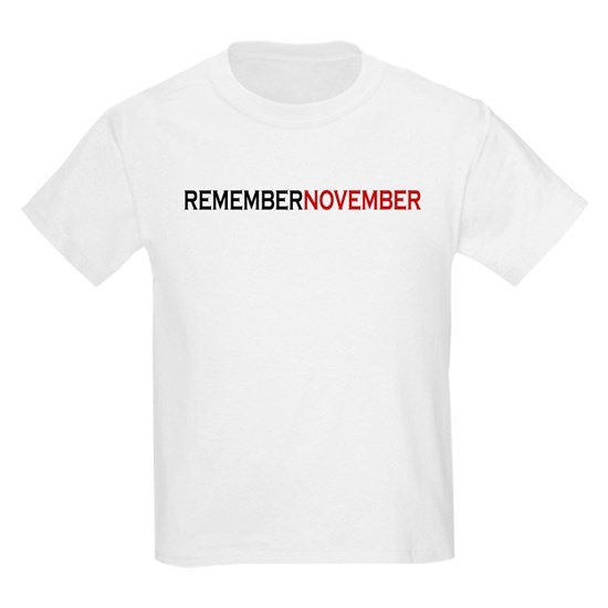 RememberNovember text