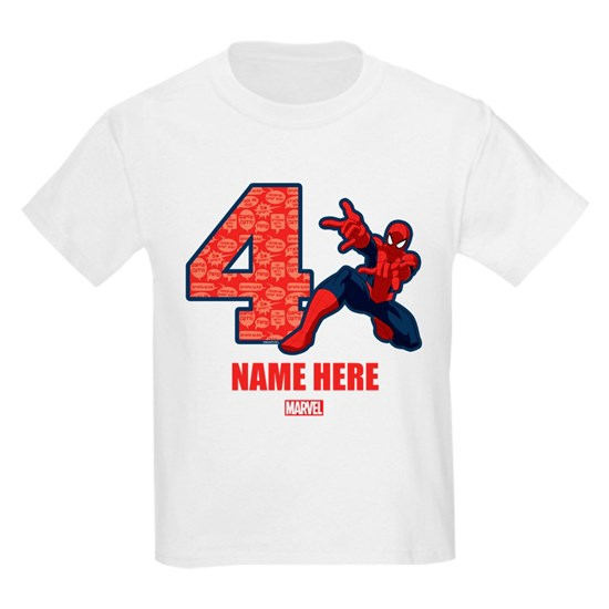 Spider-Man Personalized Birthday