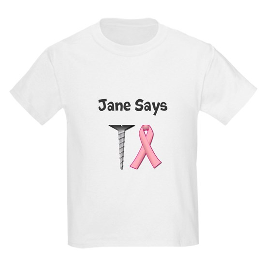 Jane Says Screw Cancer! Change to Your Name