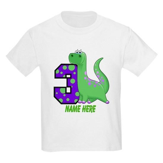 Dinosaur 3rd Birthday Custom