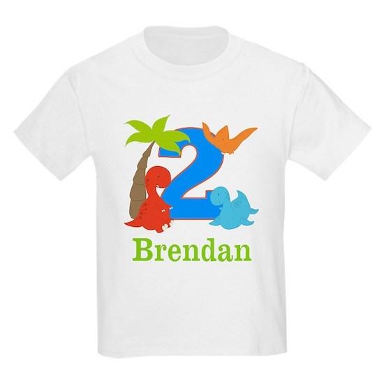 2nd Birthday Dinosaur Personalized