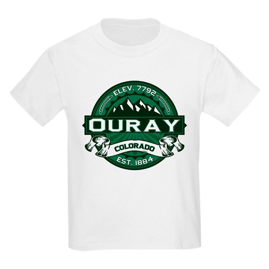 Ouray City Logo Colorado Green