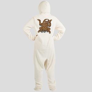 Baby Sloth Footed Pajamas