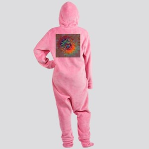 Sobrietyaustin Footed Pajamas