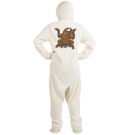 f49b7d5639 Baby Sloth Footed Pajamas by AmKiLi - CafePress