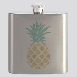 Golden Pineapple Flask