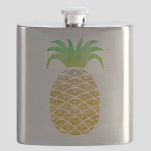 Colorful Pineapple Flask