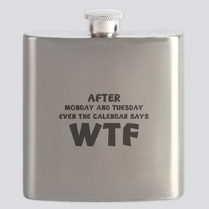 The Calendar Says WTF Flask