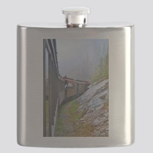 Winter Train Flask