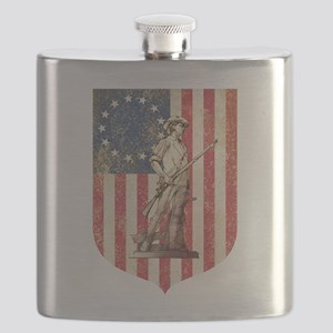 Concord Minuteman, Shield Flask