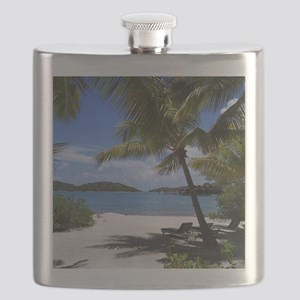 Bitter End Beach - Virgin Gorda Flask