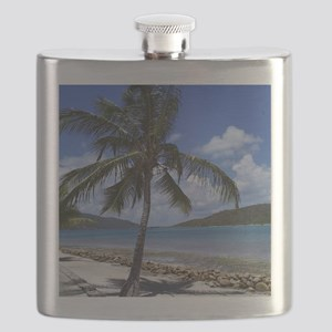 Bitter End Yacht Club Palm Tree Flask