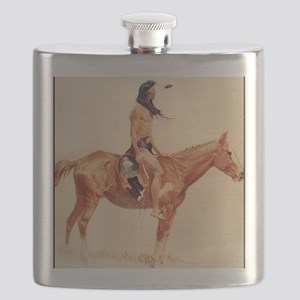 A Cheyenne Buck, 1901 Flask