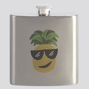 Funky Pineapple Flask