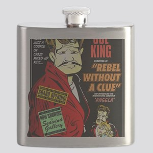 REBEL WITHOUT A CLUE Flask