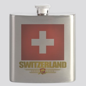 Switzerland (Flag 10) 2 Flask