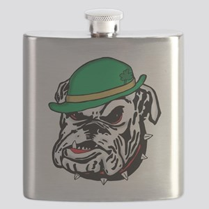 Irish Bulldog Flask