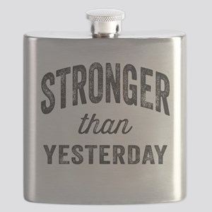 Stronger Than Yesterday Flask