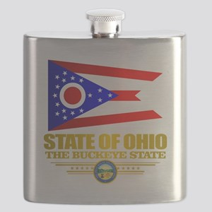 Ohio Flag Flask