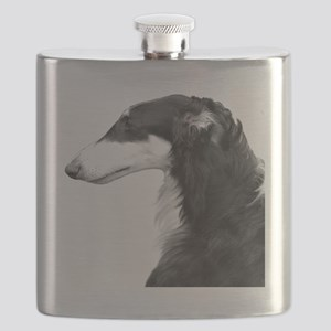 Tri Zoi White Background Flask