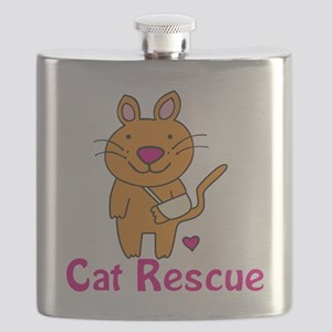 Cat Rescue Flask