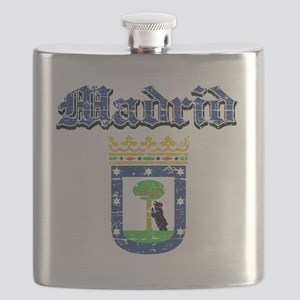 Madrid coat of arms Flask