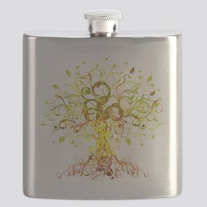 Tree Art Flask