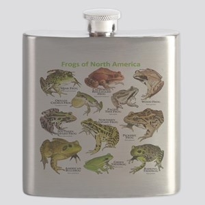 Frogs of North America Flask