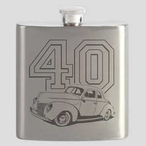 40 ford white Flask
