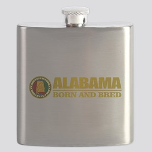 Alabama Born and Bred Flask