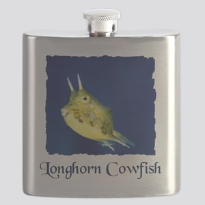 cowfish shirt Flask