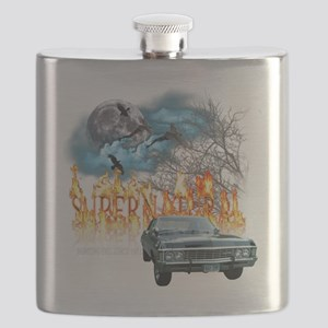 SUPERNATURAL 1967 chevrolet impala hunting e Flask
