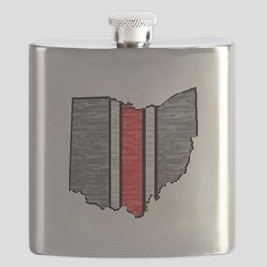 FOR OHIO Flask