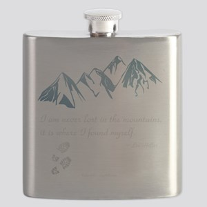 Never Lost in the Mts Flask