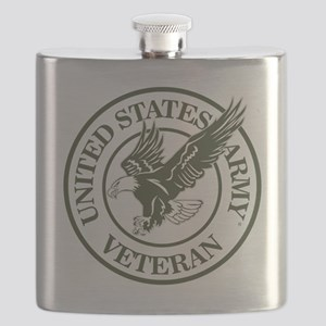United States Army Veteran Flask