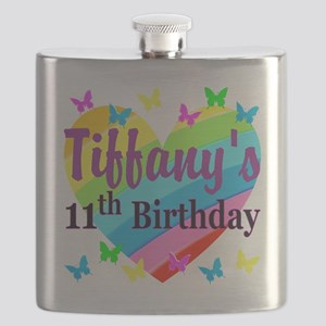 PERSONALIZED 11TH Flask