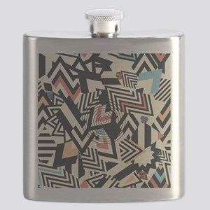 Abstract Pattern Flask
