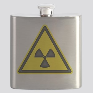 radiationWarningTriYBTCrop Flask