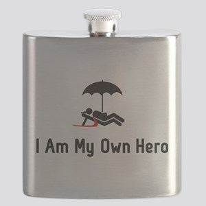 Vacation Hero Flask