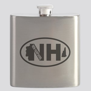 New Hampshire Old Man in the Mountain Flask