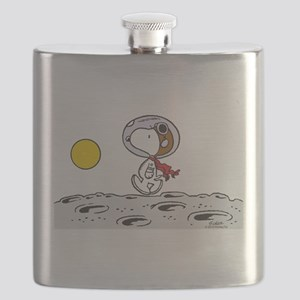 Space Snoopy Flask