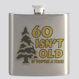 60 Isn't Old, If You're A Tre Flask