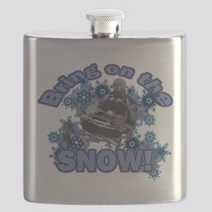 Bring On The Snow Flask