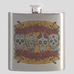 SUGAR AND ROSES Flask
