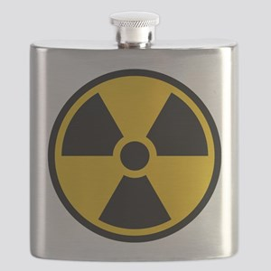 Radioactive Symbol Flask
