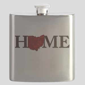 Ohio State Home Flask